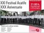 XXI Festival Acatife XXX Aniversario