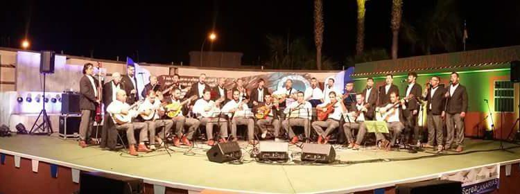 Acatife en el Escenario en La Guancha. X Festival Abruncos
