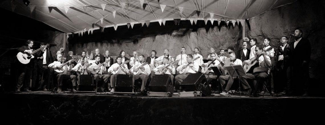 Noche de concierto en Valle Tabares. II Festival Parranderos y Punto