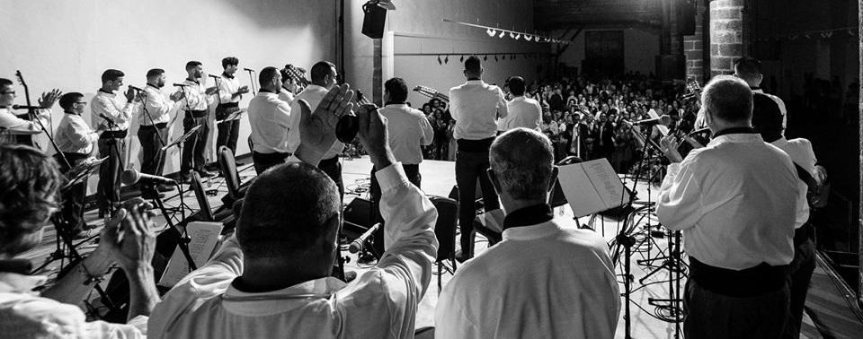 Acatife celebra su XXV festival y entrega el 'Volcán de Plata' a la Agrupación Folclórica Los Campesinos