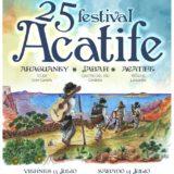 Nuevo Cartel 25 Festival Acatife