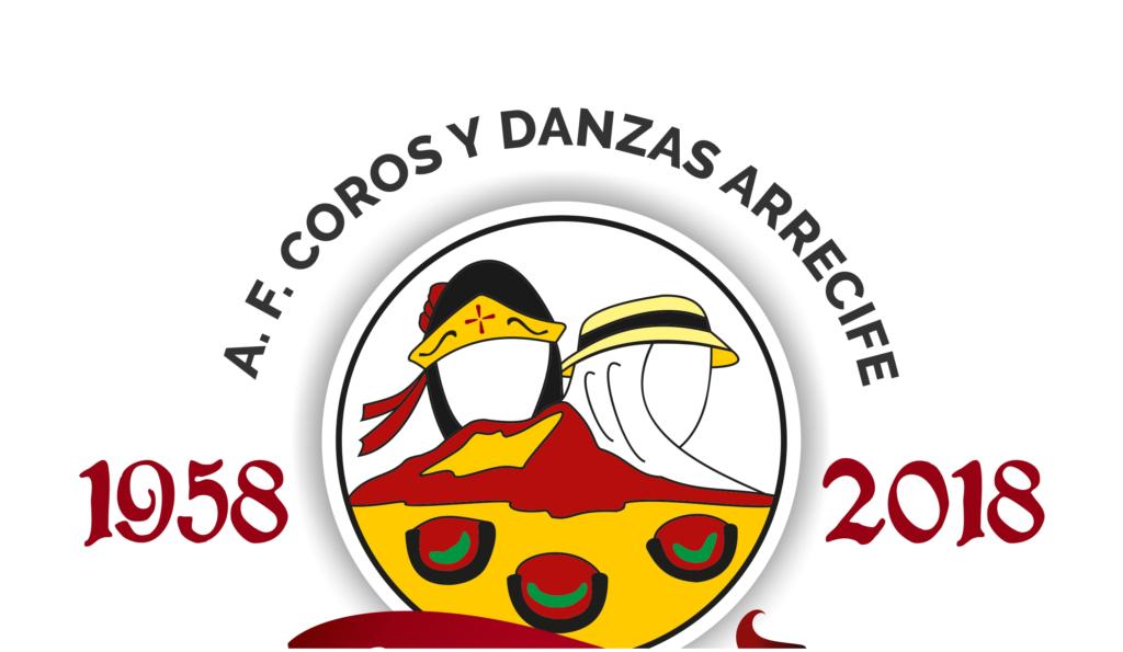 """Logotipo conmemorativo del 60º Aniversario (1958-2018) de la asociación denominado """"Toda una vida"""""""